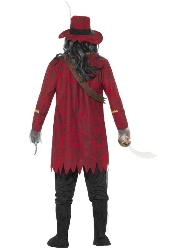 ffe80104c3a Zombie pirátský kapitán pánský kostým - Nejlevnější Ptákoviny