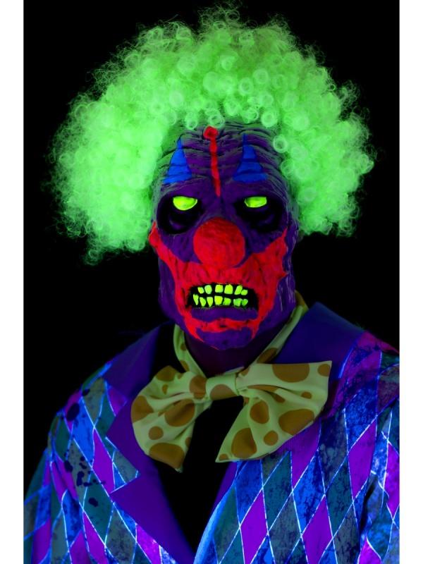 0bb3f8157 UV maska latexová Hrozivý klaun - Nejlevnější Ptákoviny