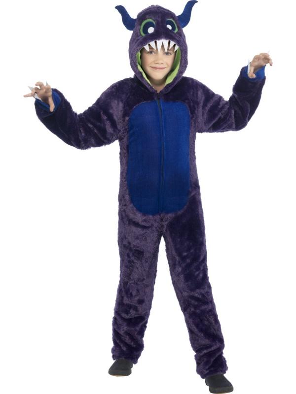 E-shop   Karnevalové kostýmy   Dětské kostýmy   Dětský fialový kostým  Příšerky s.r.o 90e450c3e23