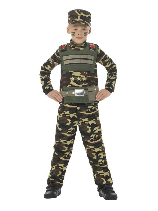 Dětský kostým Maskáčový voják - Nejlevnější Ptákoviny 9681b6ba8d