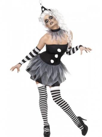 b14069484737 Kostým pro ženy - Zombie Klaunice - Nejlevnější Ptákoviny