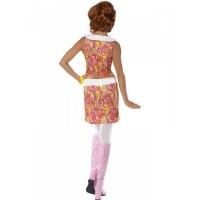 Kostým pro ženy - Rebelové 60. léta barevný 38717b3405