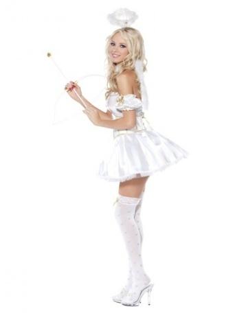 Kostým pro ženy - Roztomilý anděl - Nejlevnější Ptákoviny a4230b5fde