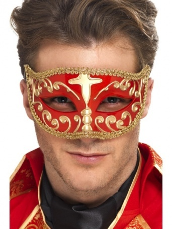 bbb77f995 Benátská maska Casanova - Nejlevnější Ptákoviny