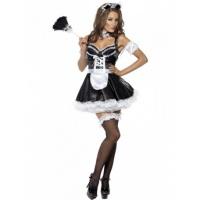 Kostým pro ženy - Sexy pokojská s korzetem - Nejlevnější Ptákoviny 9b6ebf4fce