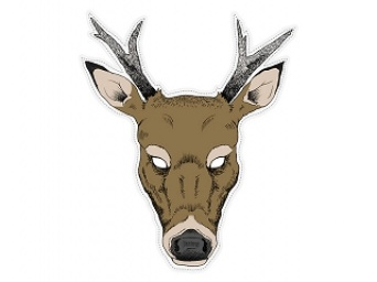 22fce2444 Maska jelen - Nejlevnější Ptákoviny