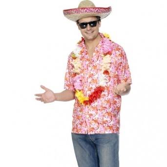 Havajská košile s květy - Nejlevnější Ptákoviny 590158c229
